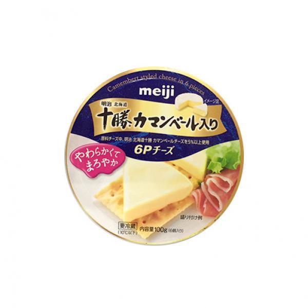 明治北海道十勝卡門貝爾乾酪派-日本 1