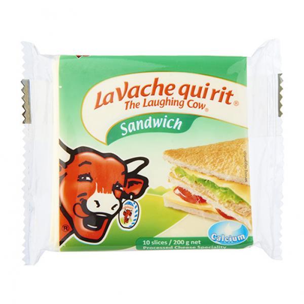 笑牛起司片-三明治風味-法國 1